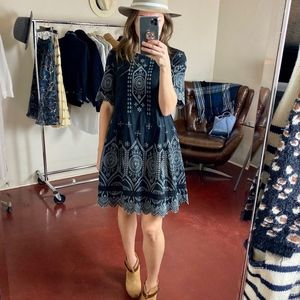 (FRENCH CONNECTION) Broderie Anglaise Dress